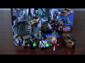 Lego Pirates of the carribean - 4181 Isla De Muerta review - обзор на русском